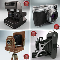 Antique Cameras Collection V2