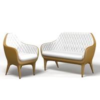Barcelona Showtime Kezo Armchair and Sofa