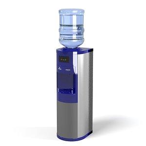 3d model of bottled water dispenser