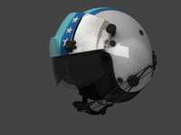 3d military helicopter helmet aviation