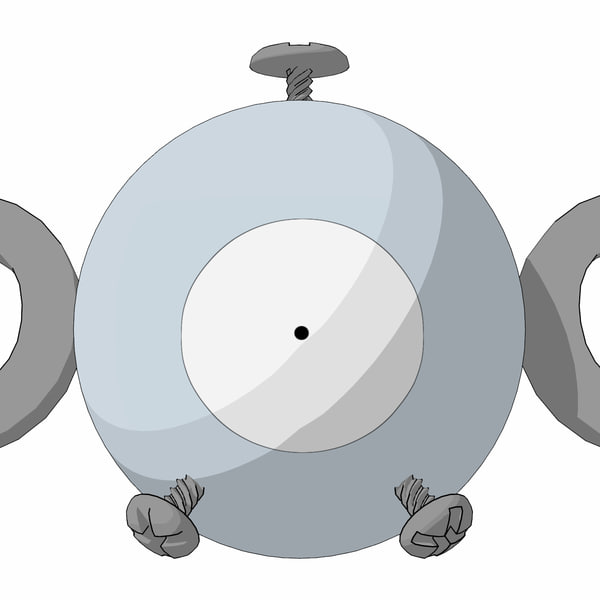 3d magnemite pokemon
