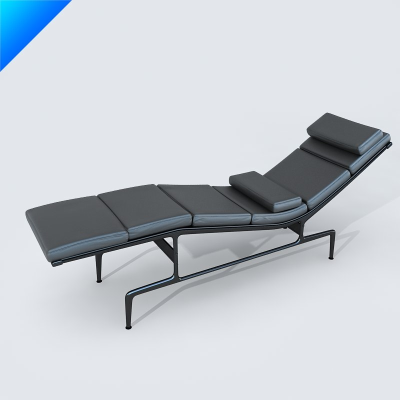 3d soft pad chaise