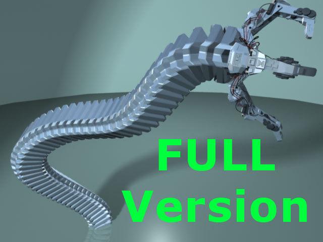 3d model robot arm -