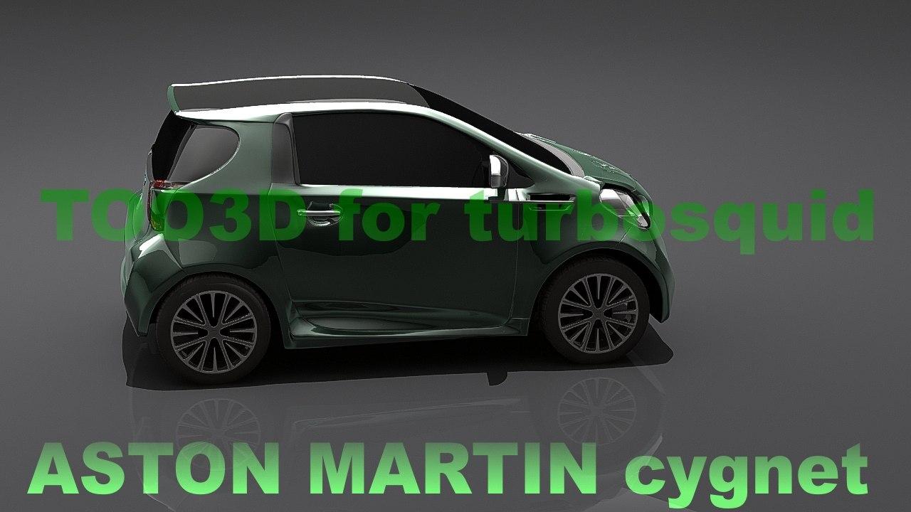 3d aston martin model