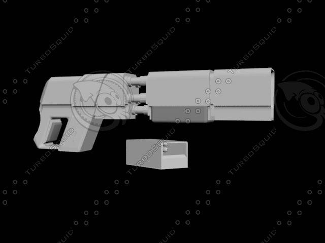 futuristic ion shotgun 3ds free