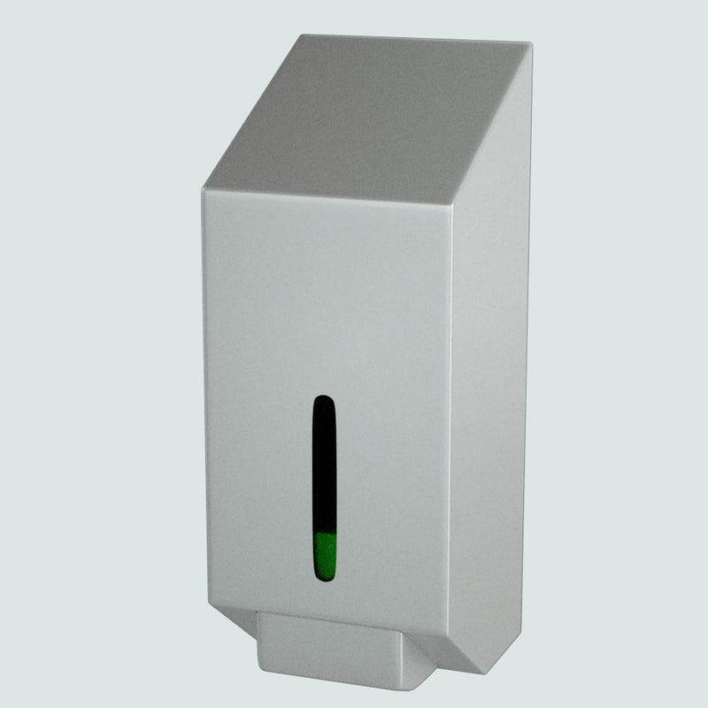 public soap dispenser obj