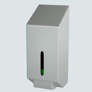 public soap dispenser obj