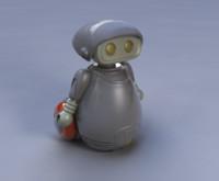 lwo toy robot character