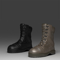 3dsmax military boots