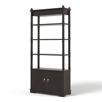 Etagere cabinet art deco modern contemporary traditional bookcase