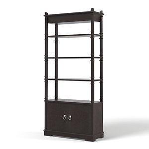 3d etagere cabinet art