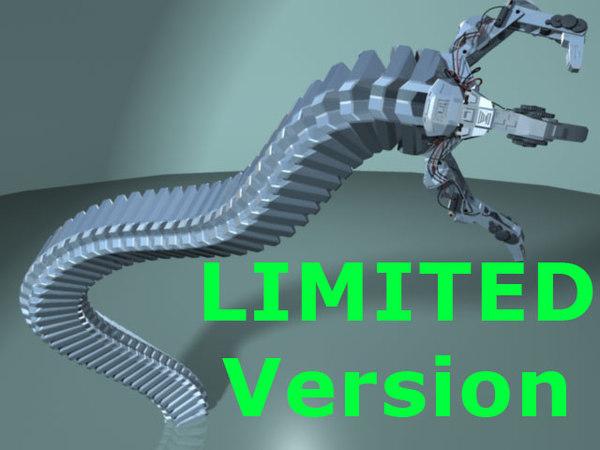 maya robot arm limited -