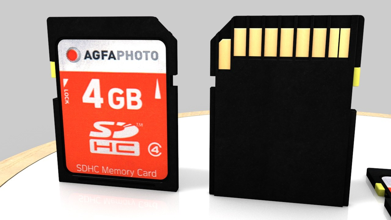 cinema4d agfa sd-card