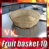 Fruit basket 10 - Wicker basket