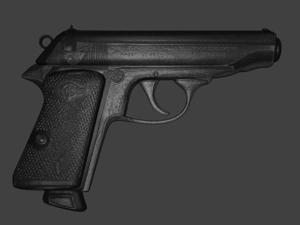 3ds hand gun