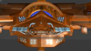 3d model fan turbines