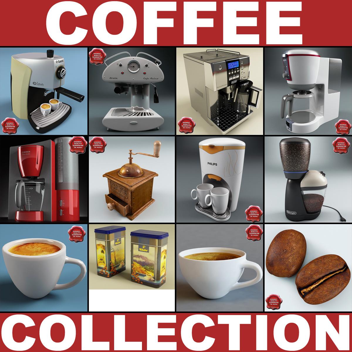 3d model coffee v2