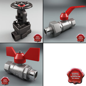 3d model of gate valves v2