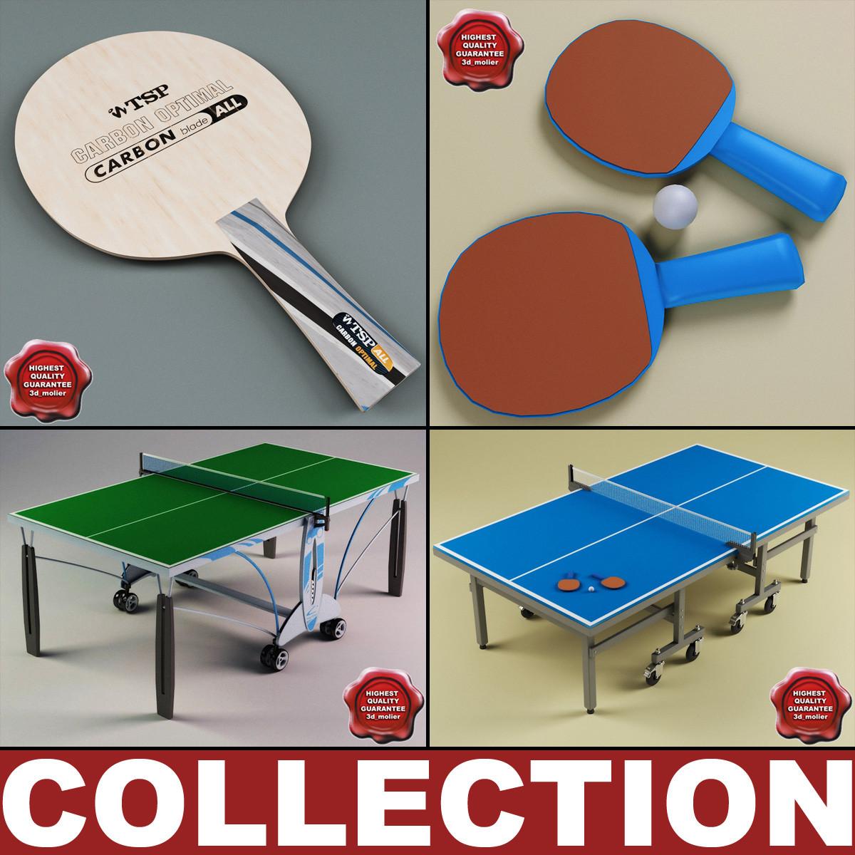 ping pong 3d max