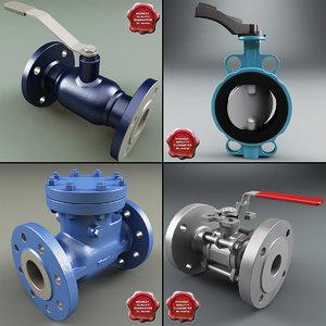 ma valves set modelled