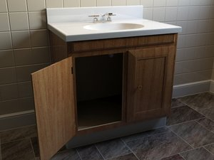 3d counter cabinet archvis model