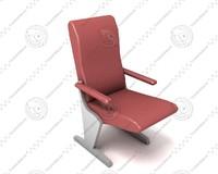 3d hall chair