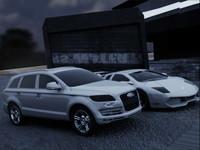 cars pantural work 3d ma