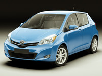 Toyota Yaris Vitz Jewela 2012