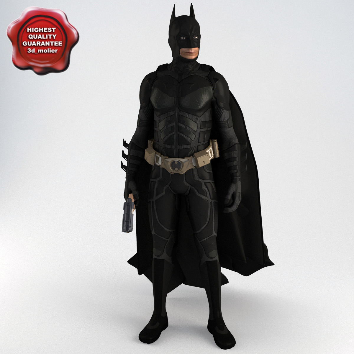 3d model batman pose1