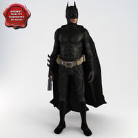3d model batman pose1
