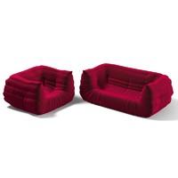 Ligne Roset Togo Firesidel Sofa armchair