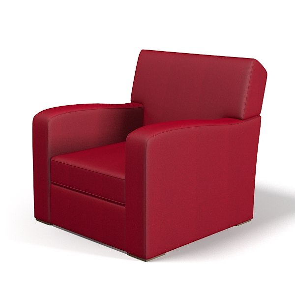 fbx modern club chair