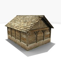 free gen rural stall 3d model