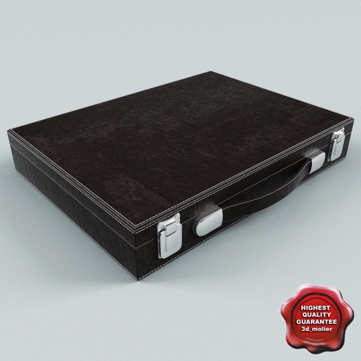3d model suitcase v4
