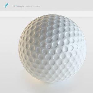 3d golf model