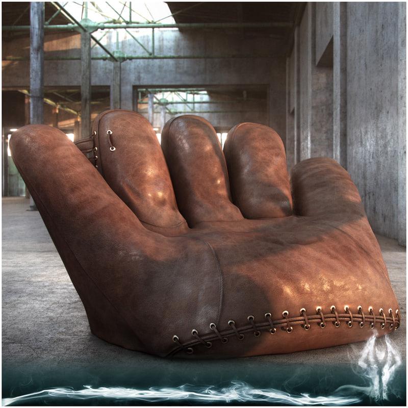 3d joe armchair model