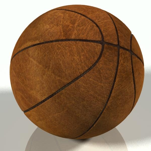 ball basketball 3d model
