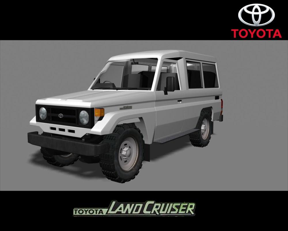 Toyota Land Cruiser 70 3d Ma