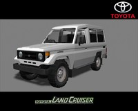 toyota land cruiser 70 3d ma