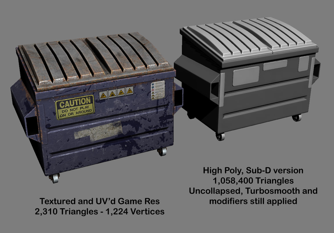 max dumpsters normal maps