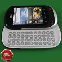 LG C550 Optimus Chat Grey
