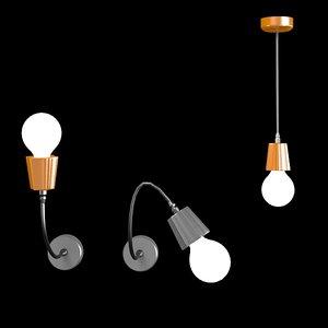 modo luce budino 3d 3ds