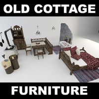 style cottage 3d max