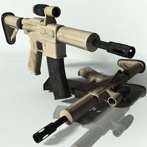 3d model of ar 15