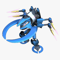 reploid wind 3d max