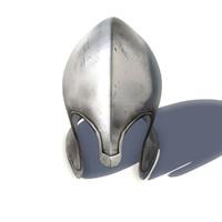 medieval helmet helm obj