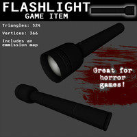 free flashlight games light 3d model