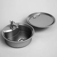CGAxis Kitchen Sink 22