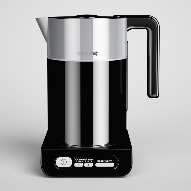 c4d electric kettle 02