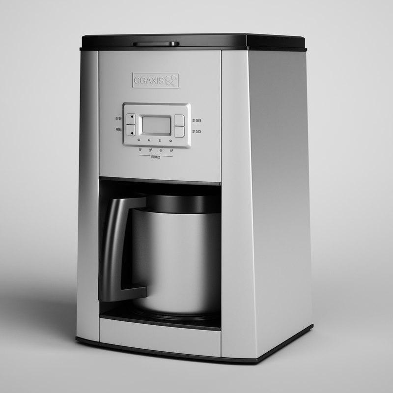 coffee maker 06 3d model
